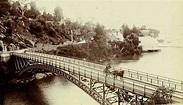 Cataract Bridge in Launceston, Tasmania in the 1890s ...