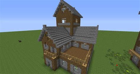 Beautiful Medieval House Tutorial!  Creative Mode
