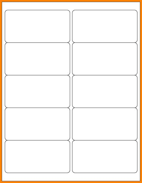 Template For Avery 5163 Labels 7 5163 avery template time table chart