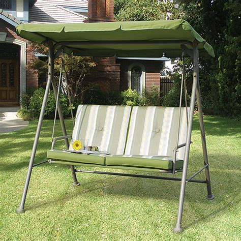 walmart double seat cushion replacement swing canopy