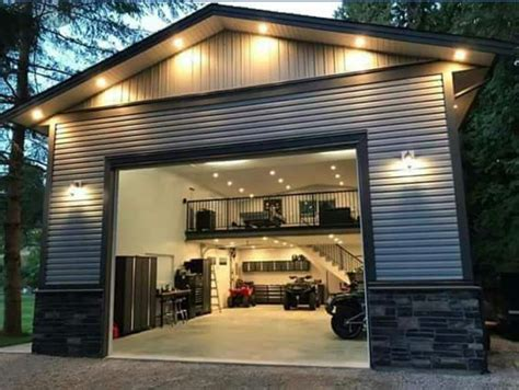 Home Garage by Metal Building Cave Cave Design Ideas In 2019