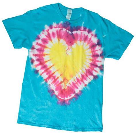 Heart Tie Dye T Shirt