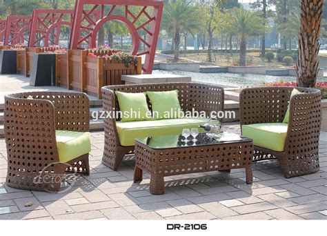 cheap bali island style outdoor wicker furniture