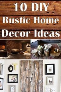 10, Diy, Rustic, Home, Decor, Ideas