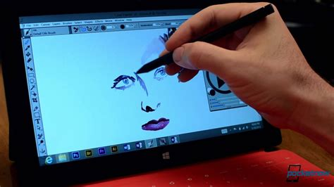 surface photoshop pro microsoft wintab wacom adobe touch screen tablet illustrator drivers paint using graphic painter designer android makes apps