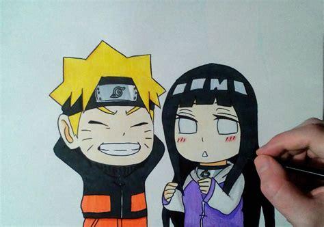 Speed Drawing Chibi Naruto And Hinata