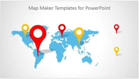 map maker templates  powerpoint