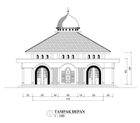 referensi gambar masjid ukuran    teras depan