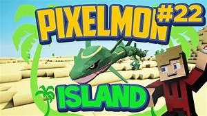 I FOUND A RAYQUAZA! Pixelmon Island Special Mini-Series ...