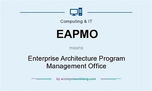 What does EAPMO mean? - Definition of EAPMO - EAPMO stands ...
