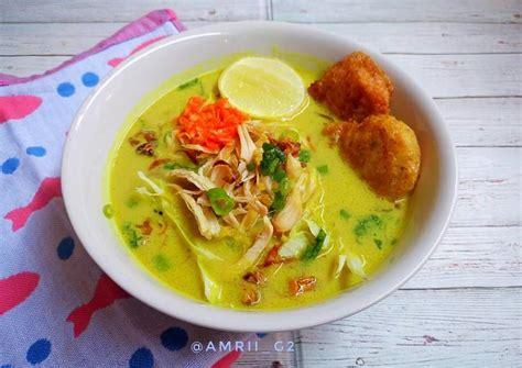 Yuk, simak resepnya berikut ini! Resep Soto Ayam Medan oleh Kaka beryl @amrii_g2 - Cookpad
