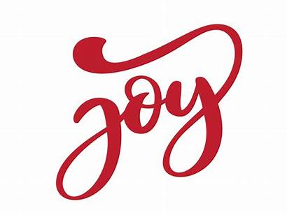 Joy Lettering Text Brush Hand Calligraphy Background