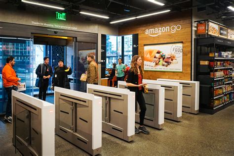 amazon cuisine amazon go no checkers no lines we take a look cnet