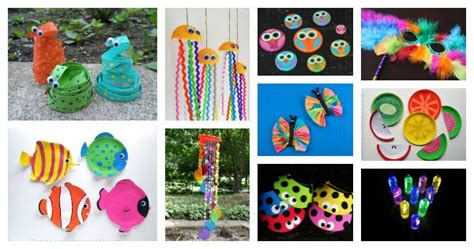 colorful kids crafts    colorful craft ideas