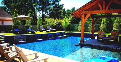 Pool Bar by Home Pool Bar Designs With Green Landscaping View Homelk
