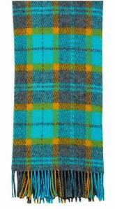 Plaid Jaune Et Gris : plaid fantaisie cossais gris jaune turquoise 130x170 ~ Teatrodelosmanantiales.com Idées de Décoration