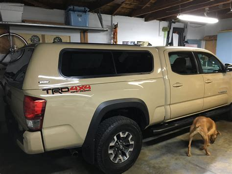 Toyota Tacoma Bed Cap by 2016 Tacoma Best Cap For The Bed Are There Any Manuf I