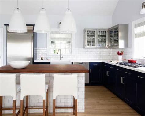 White Subway Tile Backsplash Home Design Ideas, Pictures