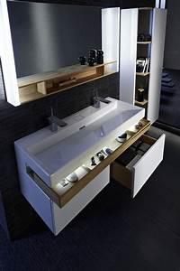 Les 25 meilleures idees de la categorie meuble double for Vasque et meuble