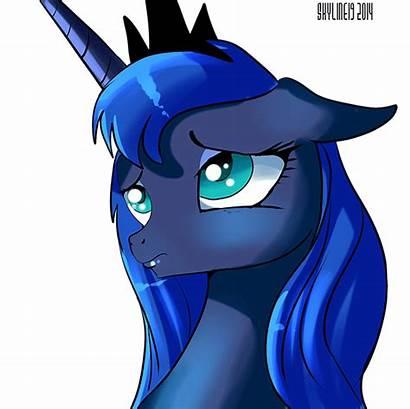 Puff Fluffle Luna Princess Pony Eyes Mlp