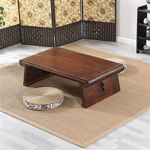 Asian JapaneseChinese Low Tea Table Rectangle 120x55cm