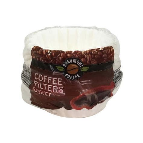 If there is a real quality problem caused by us, we will send. Beaumont Basket Coffee Filters (200 ct) - Instacart