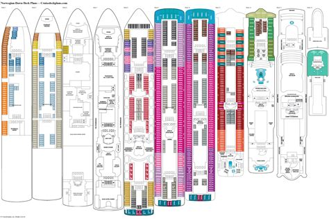norwegian dawn deck plans