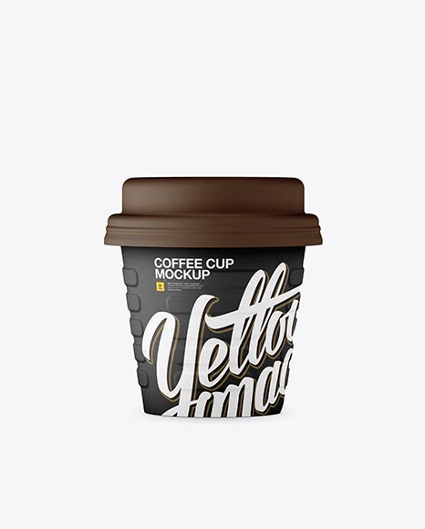 Saves us a lot of time creating awesome mockups to use to demonstrate new sites to clients. mark cherry. Free Matte Small Coffee Cup Mockup - Front View - Free ...