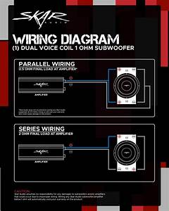 Dual Voice Coil Wiring Guides