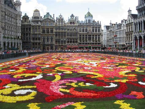 grand place tapis de fleurs photo et image europe benelux belgium images fotocommunity