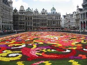 Tapis De Fleurs : grand place tapis de fleurs photo et image europe ~ Melissatoandfro.com Idées de Décoration