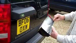 Land Rover Discovery 3 Rear Door Light Housing Cover