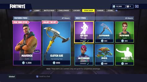 daily item shop today skin reset fortnite