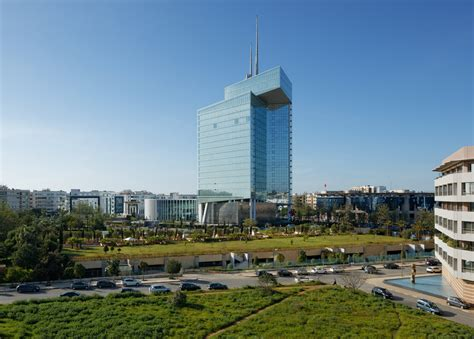 siege social telecom tallest building in morocco masterbuild africa