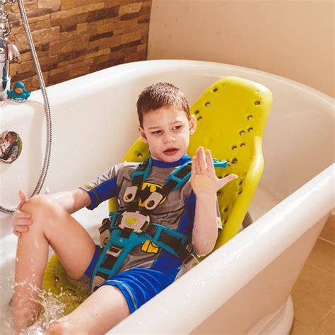 bath seat for handicapped child splashy portable bath seat firefly special needs products