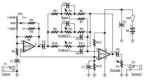 Preamplifier Guitar Control Circuit Eeweb Community