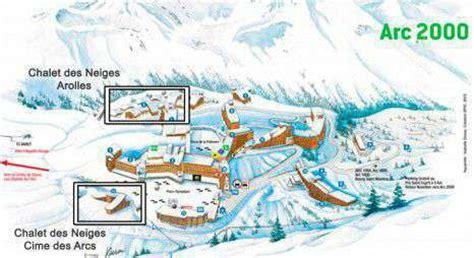 chalet des neiges arc 2000 situation residence arolles arc 2000 acces residence cime des arcs arc 2000