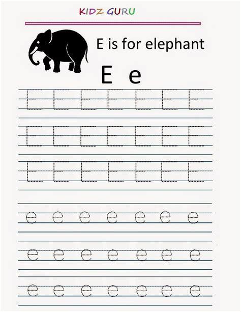 letter e tracing worksheets free worksheet printables