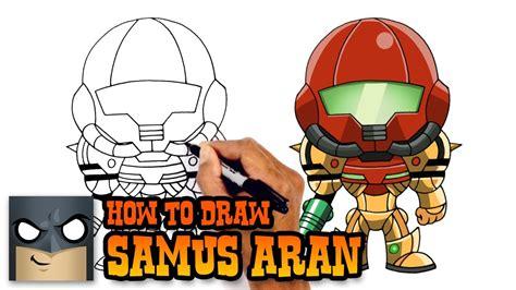 How To Draw Samus Aran Metroid Prime Youtube