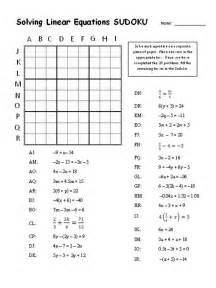 Sudoku Solving Linear Equations