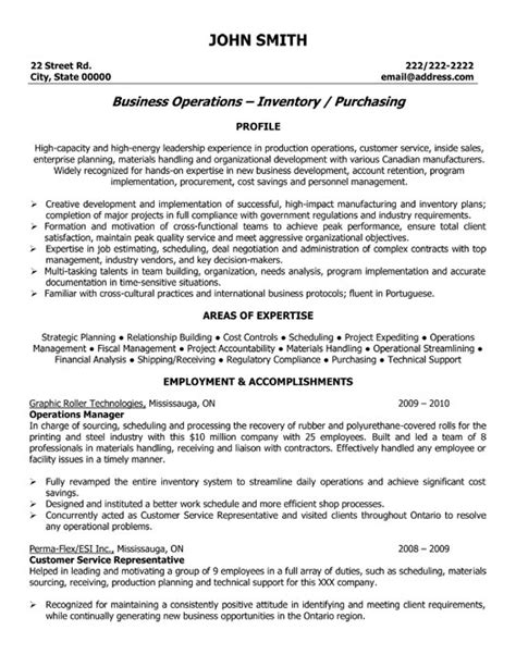 Operations Management Resume Exles by Operations Manager Resume Template Premium Resume Sles Exle