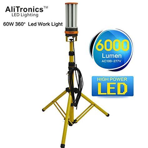 alitronics 60w led work light led construction light