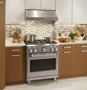 Monogram 30 U0026quot  All Gas Professional Range With 4 Burners