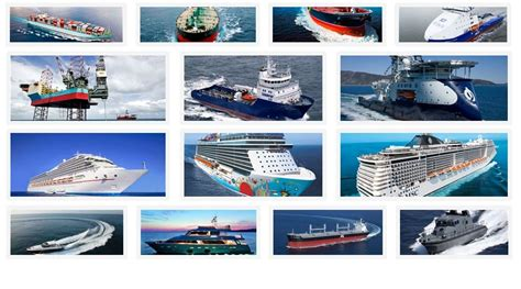 Types Of Boats Chart by List Of Ship Managers Maritime Careers Ebook