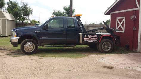 affordable towing recovery towing service