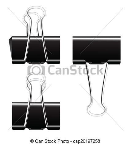 binder clipart black and white black paper binder clip vector clipart vector search