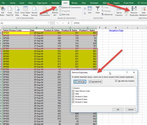 Or Exle by Remove Duplicate Rows Excel Auditexcel Co Za