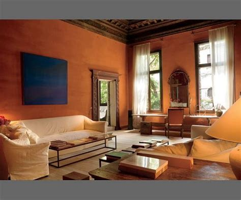 i like the terracotta walls and warm feeling addition ideas axel vervoordt decor living room