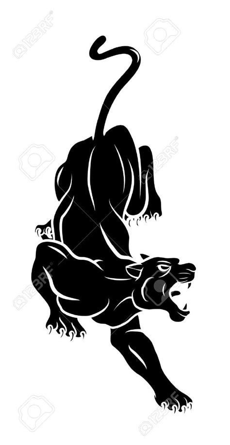 Panther Tattoo Images & Designs