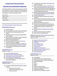 11  Event Planning Checklist Examples  U0026 Samples